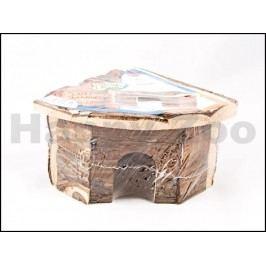 Dřevěný dům rohový TRIXIE Jesper pro křečky 22x15x10,5cm