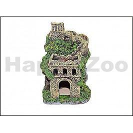Dekorace RESUN PO-035 starý hrad 11x11x14,5cm