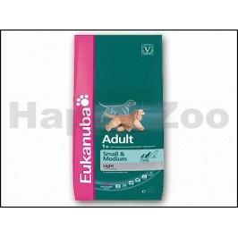EUKANUBA Adult Small & Medium Breed Light 3kg