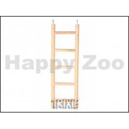 Dřevěný závěsný žebřík TRIXIE 4 příčky (20cm)