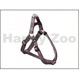 Postroj KARLIE-FLAMINGO Art Sportiv Plus D-ring hnědý (S) 25-45x