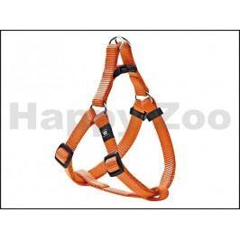 Postroj KARLIE-FLAMINGO Art Sportiv Plus D-ring oranžový (S/M) 3