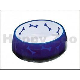 Miska plastová KARLIE-FLAMINGO - modrá (M) 1000ml 15,5cm