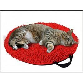 Pelech KARLIE-FLAMINGO Catmaxx červený 45cm