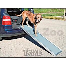 Teleskopická nástupní rampa pro psy do auta TRIXIE 100-180x43cm