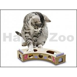 Hračka pro kočky KARLIE-FLAMINGO - Smart Cat Curve - zatočená dr