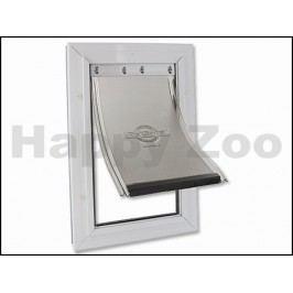 Hliníková dvířka PET SAFE Staywell Aluminium 620 bílá (velikost:
