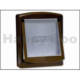 Plastová dvířka PET SAFE Staywell Original 755 hnědá (velikost: