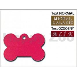 QUICK TAG gravírovací známka - červená kost (L)
