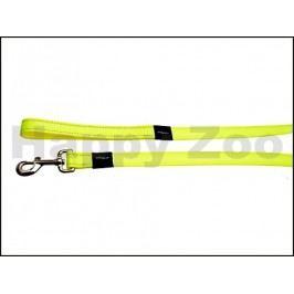 Vodítko ROGZ Utility HL 06 H-Dayglow Yellow (L) 1,6x140cm