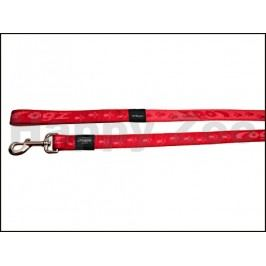 Vodítko ROGZ Alpinist HL 21 C-Red (S) 1,1x180cm