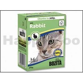 Konzerva BOZITA Feline s králíkem v želé 370g (Tetra Pak)