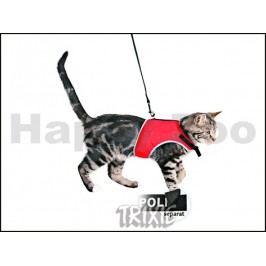 Postroj s vodítkem pro kočku TRIXIE Xcat 24-42cm