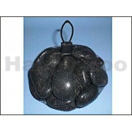 Kameny River Pebbles černé 0,75kg (síťka)