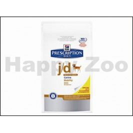 HILLS Canine J/D Reduced Calorie 4kg