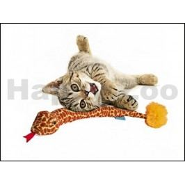 Hračka KYJEN Funky Feline - Snake Giraffe (L) (s catnipem)