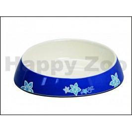 Miska ROGZ Catz Fishcake CBOWL 31 B-Blue Floral (S) 200ml