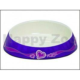 Miska ROGZ Catz Fishcake CBOWL 31 E-Purple Hearts (S) 200ml