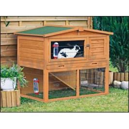 Dřevěná klec pro králíky TRIXIE 123x96x76cm