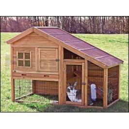 Dřevěná klec pro králíky TRIXIE 151x107x80cm