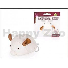 Hračka pro kočky TOMMI Natural Only - vibrující myška z juty 7,5