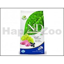 N&D Grain Free Dog Adult Mini Lamb & Blueberry 2,5kg