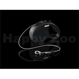 FLEXI New Classic Cord (XS) - černé (do 8kg, 3m lanko)