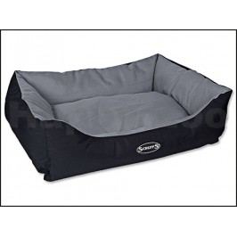 Pelech SCRUFFS Expedition Box Bed šedivý (L) 75x60cm