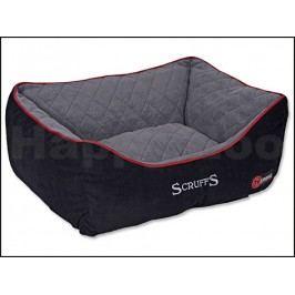Pelech SCRUFFS Thermal Box Bed černý (S) 50x40cm