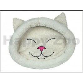 Pelech TRIXIE Mijou kočičí hlava béžový 48x37cm