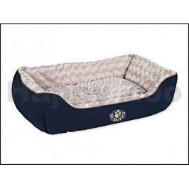 Pelech SCRUFFS Wilton Box Bed modrý (L) 75x60cm