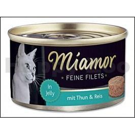 Konzerva MIAMOR Fillet - tuňák a rýže 100g