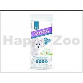 SANIDOG White Musk čistící ubrousky pro psy (42ks)
