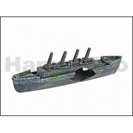 Dekorace KARLIE-FLAMINGO - Titanic se vzduchováním 37,5x6x10cm