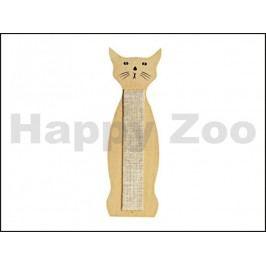 Škrabadlo KARLIE-FLAMINGO nástěnné kočka 59x21cm