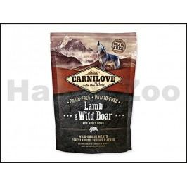 CARNILOVE Dog Lamb & Wild Boar for Adult Dogs 1,5kg