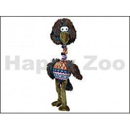 Hračka TRIXIE plyš - pták s natahovacím krkem a barevným tělem 3