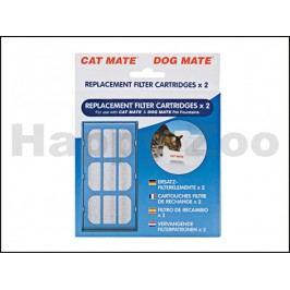 Náhradní uhlíkový filtr k fontánám CAT MATE (2ks)