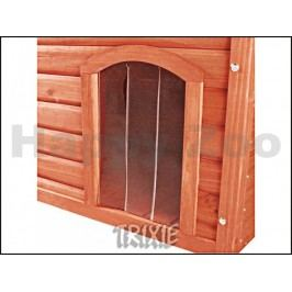 Plastová dvířka k boudě pro psa TRIXIE Natura hnědé (XL)