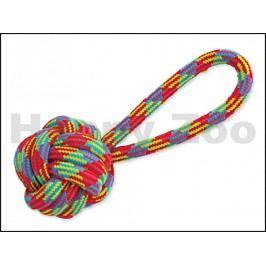 Hračka DOG FANTASY bavlna - míč házecí krátký 21cm