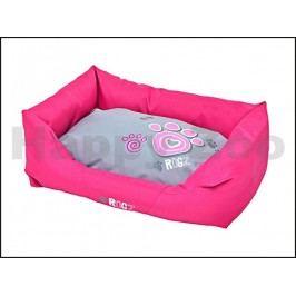 Pelech ROGZ Spice Pod - Pink Paw (L) 88x55x26cm