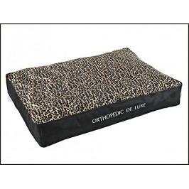 Ortopedická matrace O´LALA PETS De Luxe 160x130cm leopard