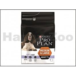 PRO PLAN Dog Medium & Large Adult 7+ 3kg