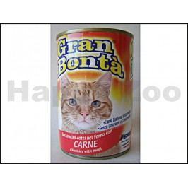Konzerva GRAN BONTA pro kočky s hovězím masem 400g