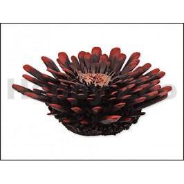 Dekorace AQUA EXCELLENT - mořský korál červenočerný 9,5x9,5x3,4c