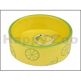 Keramická miska TRIXIE Fresh Fruits žlutá 0,8l (16cm)