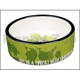 Keramická miska TRIXIE Ovečka Shaun zelená 0,8l (16cm)