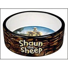 Keramická miska TRIXIE Ovečka Shaun hnědá 0,3l (12cm)