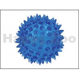 Hračka DOG FANTASY TPR guma - míč ježatý modrý 5cm