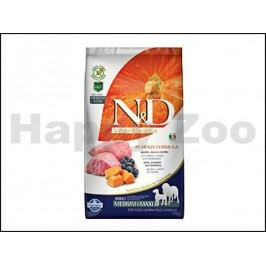N&D Grain Free Pumpkin Dog Adult Medium/Maxi Lamb & Blueberry 2,